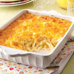 Cheesy Hash Brown Bake