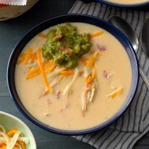 Cheesy Tortilla Soup