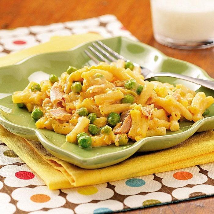 Cheesy Tuna Mac
