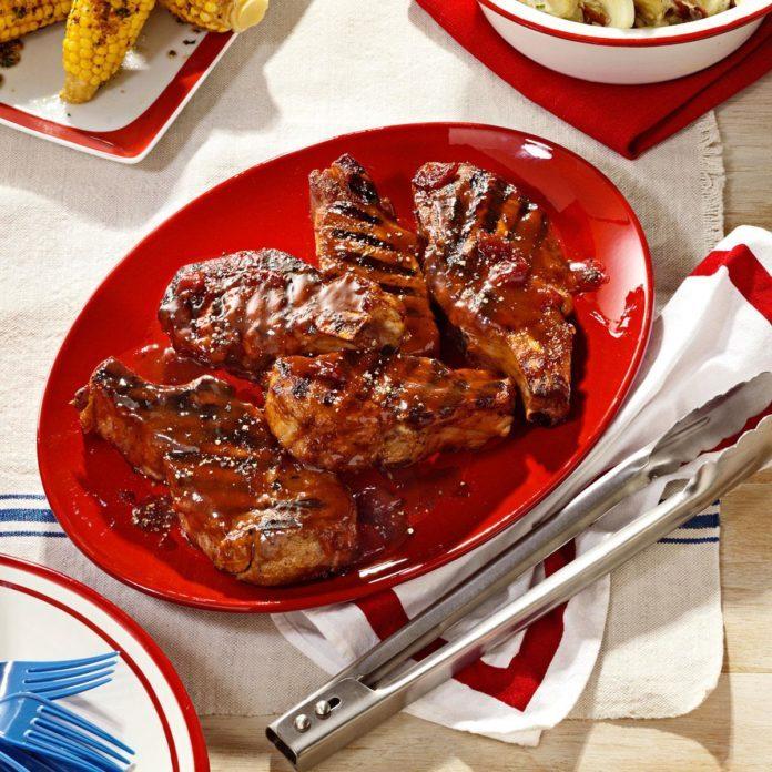 Cherry-Barbecue Pork Ribs