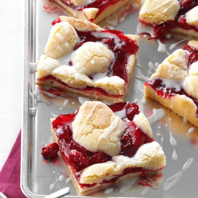 Michigan: Cherry Bars