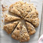 Cherry-Chip Oat Scones