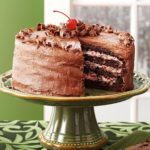 Cherry Chocolate Layer Cake