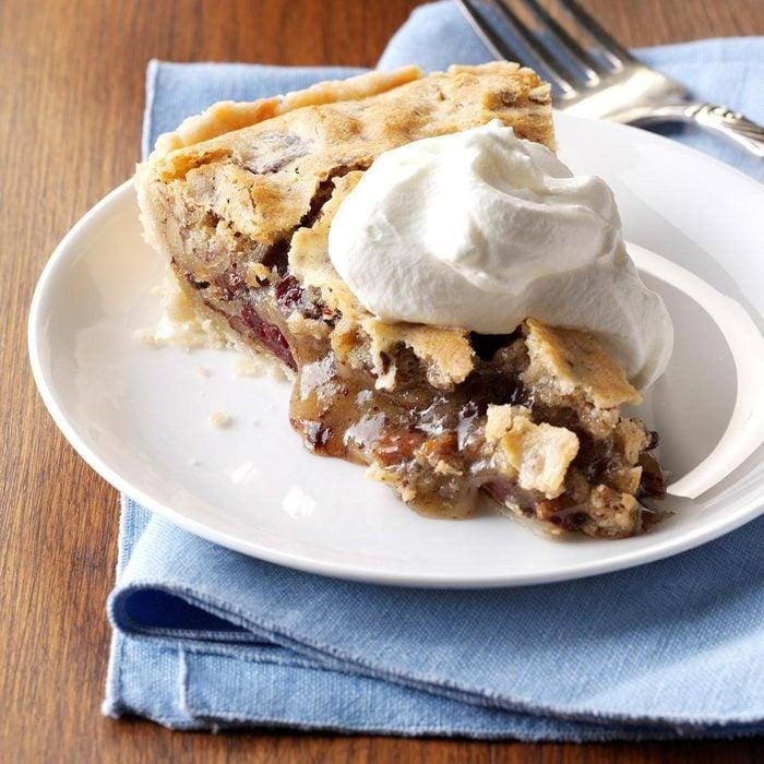 Cherry Chocolate Pecan Pie