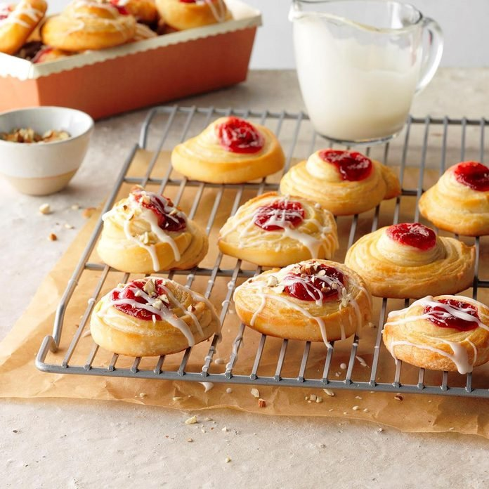 Bright Easter Brunch: Cherry Danish