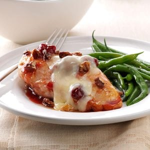 Cherry-Glazed Chicken with Toasted Pecans