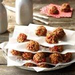 Cherry No-Bake Cookies