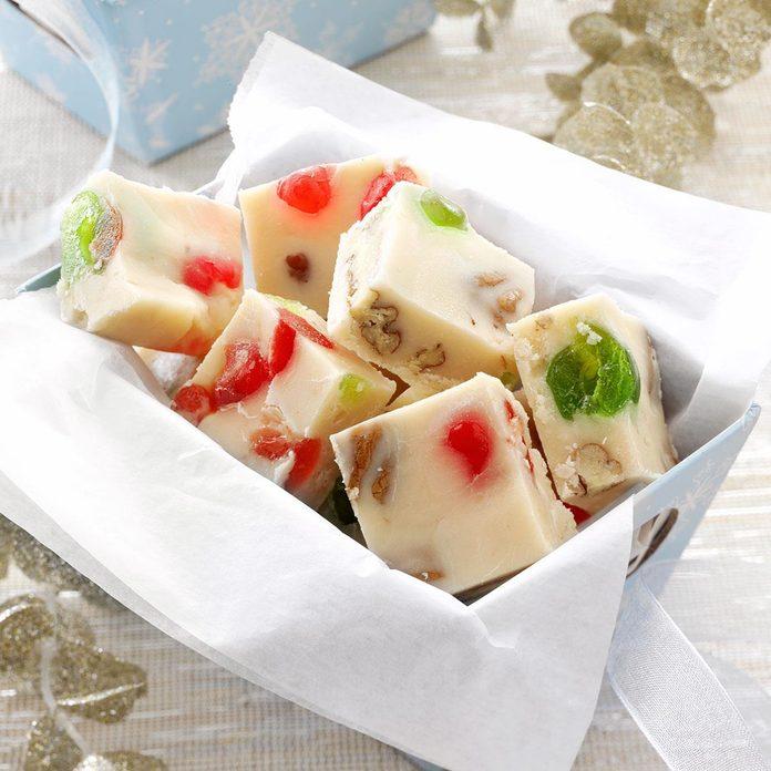 Cherry-Nut White Fudge