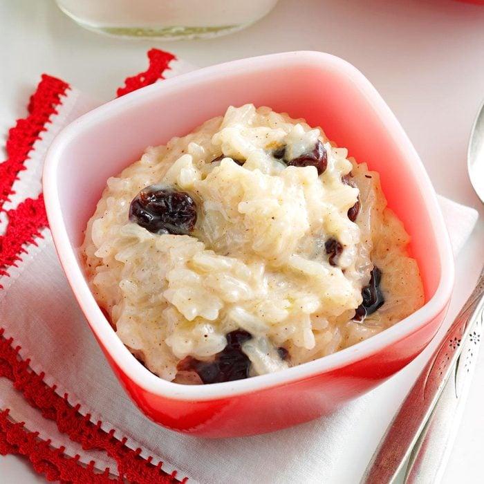 Cherry & Spice Rice Pudding