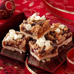 Cherry Walnut Squares