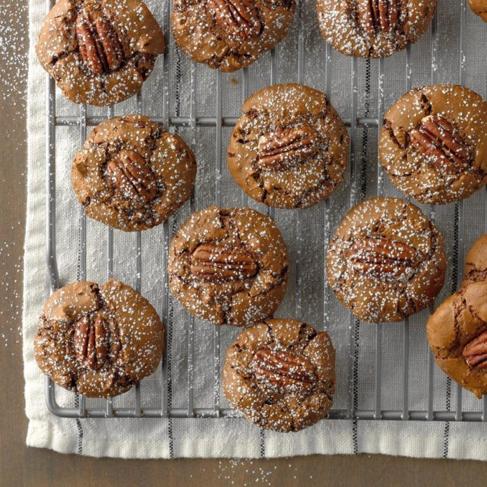 Chewy German Chocolate Cookies