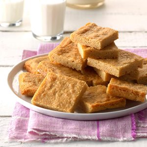 Chewy Peanut Butter Pan Squares