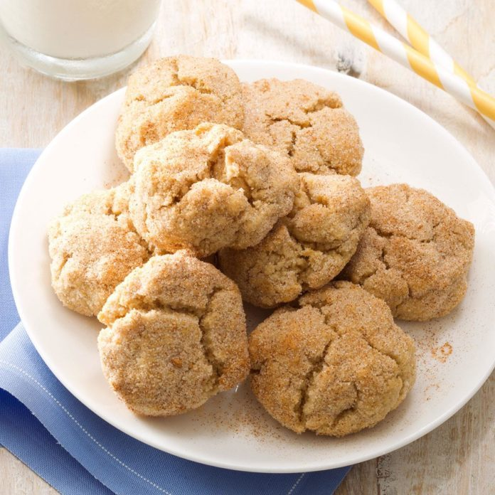 Chewy Whole Wheat Snickerdoodles