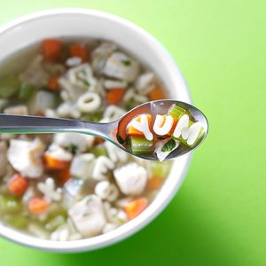 Chicken Alphabet Soup