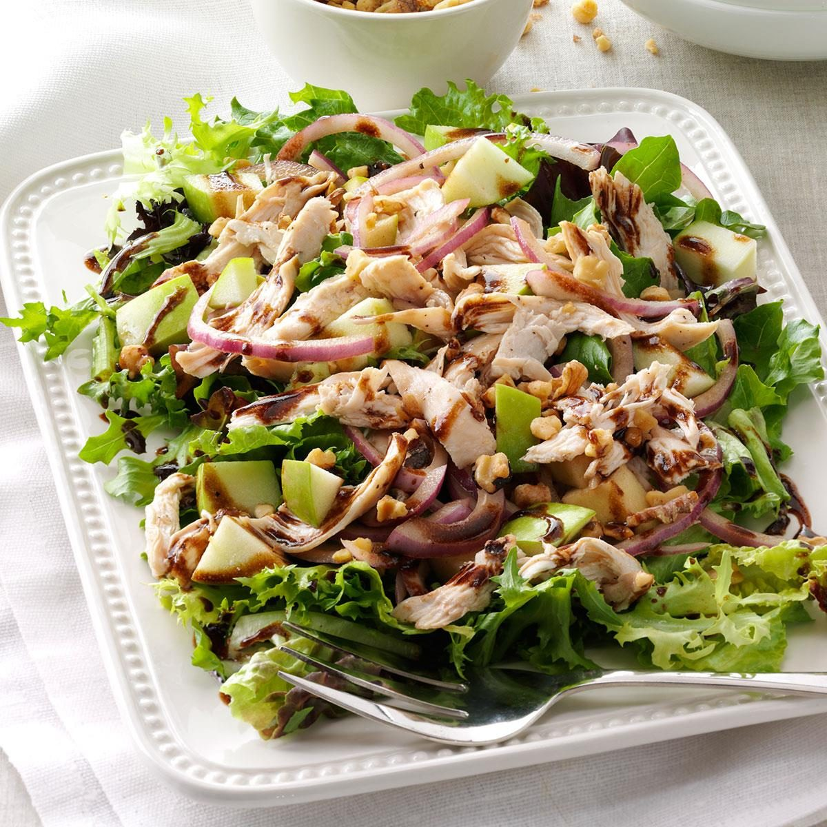 Inspired by: Panera Bread's Fuji Apple Salad with Chicken