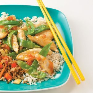 Chicken Apricot Stir-Fry