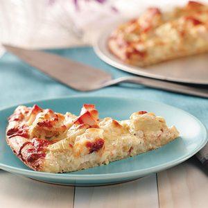 Chicken Artichoke Pizzas