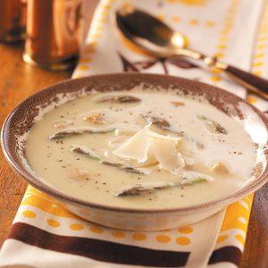 Chicken Asparagus Soup