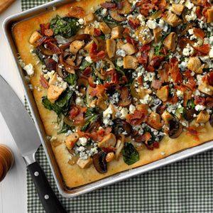 Chicken & Blue Cheese Pizza