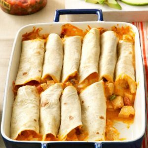 Chicken Burritos