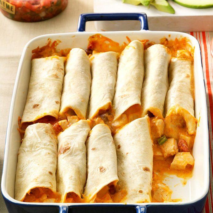 Inspired By: Chicken Burrito