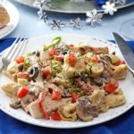 Chicken & Cheese Tortellini Alfredo