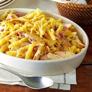 Chicken Cordon Bleu Pasta