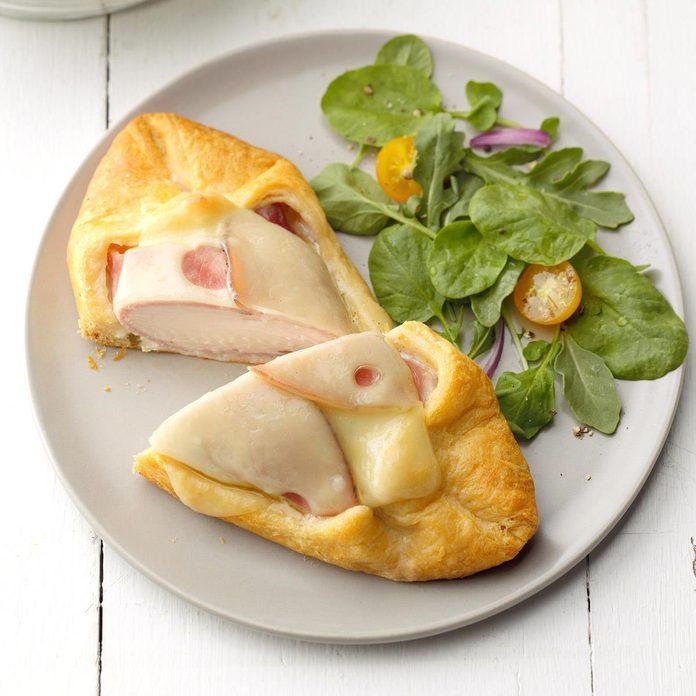 Chicken Cordon Bleu in Pastry