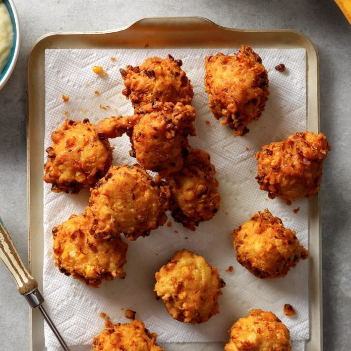 Chicken Corn Fritters