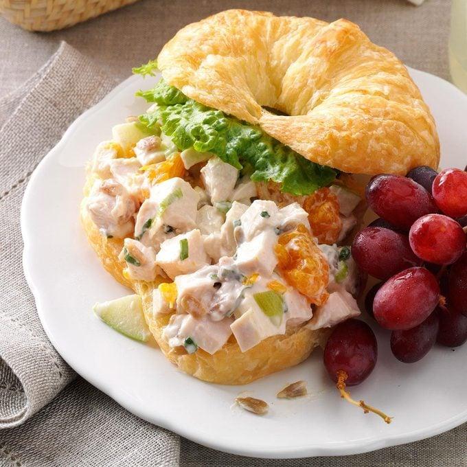 Chicken Croissant Sandwiches
