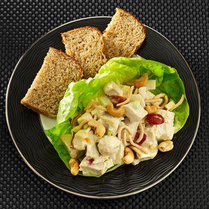Chicken Curry Fruit Salad