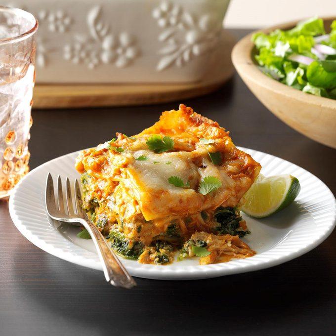 Chicken Curry Lasagna