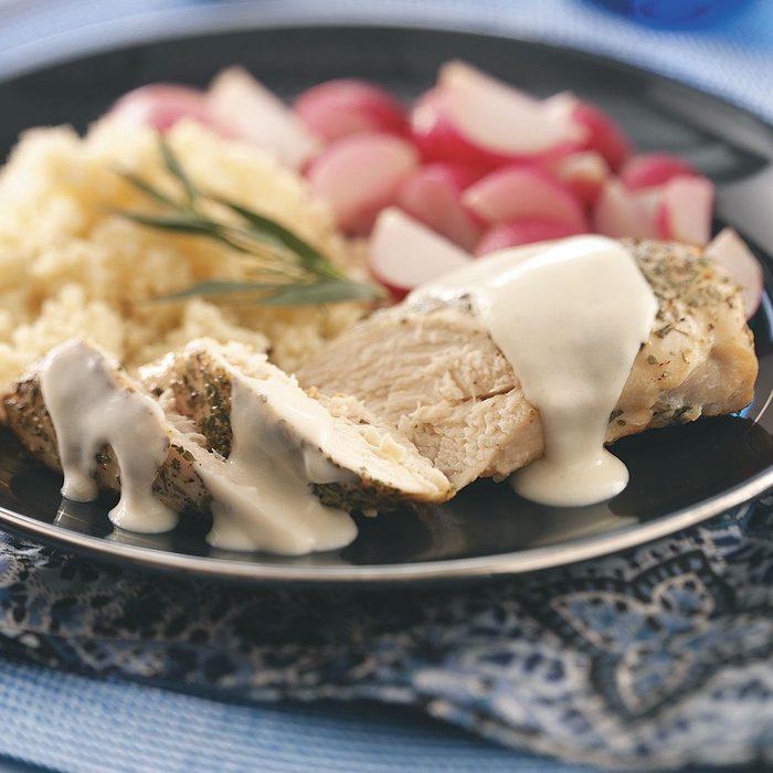 Chicken Dijon & Couscous