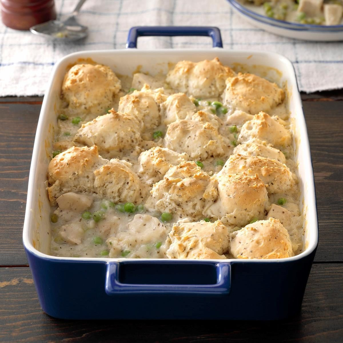 Chicken & Dumpling Casserole Recipe