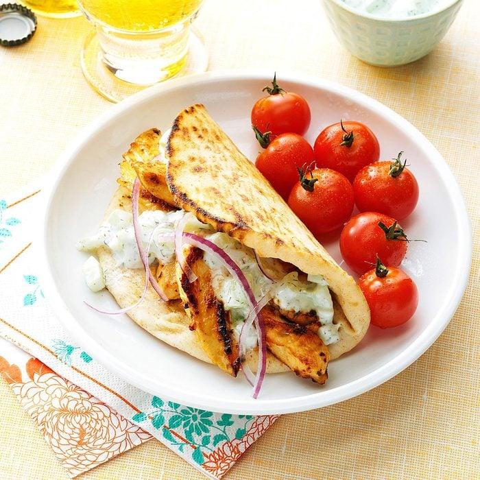 Day 3 Lunch: Chicken Gyros