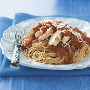 Chicken Marinara with Pasta