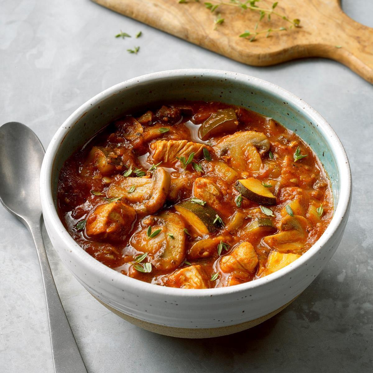 Chicken Mushroom Stew