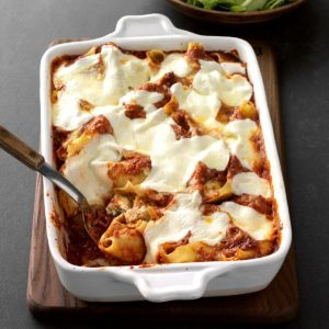 Chicken Parmesan Stuffed Shells