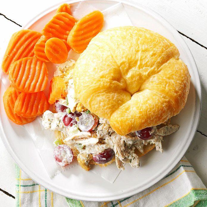 Make: Chicken Salad Croissant Sandwiches