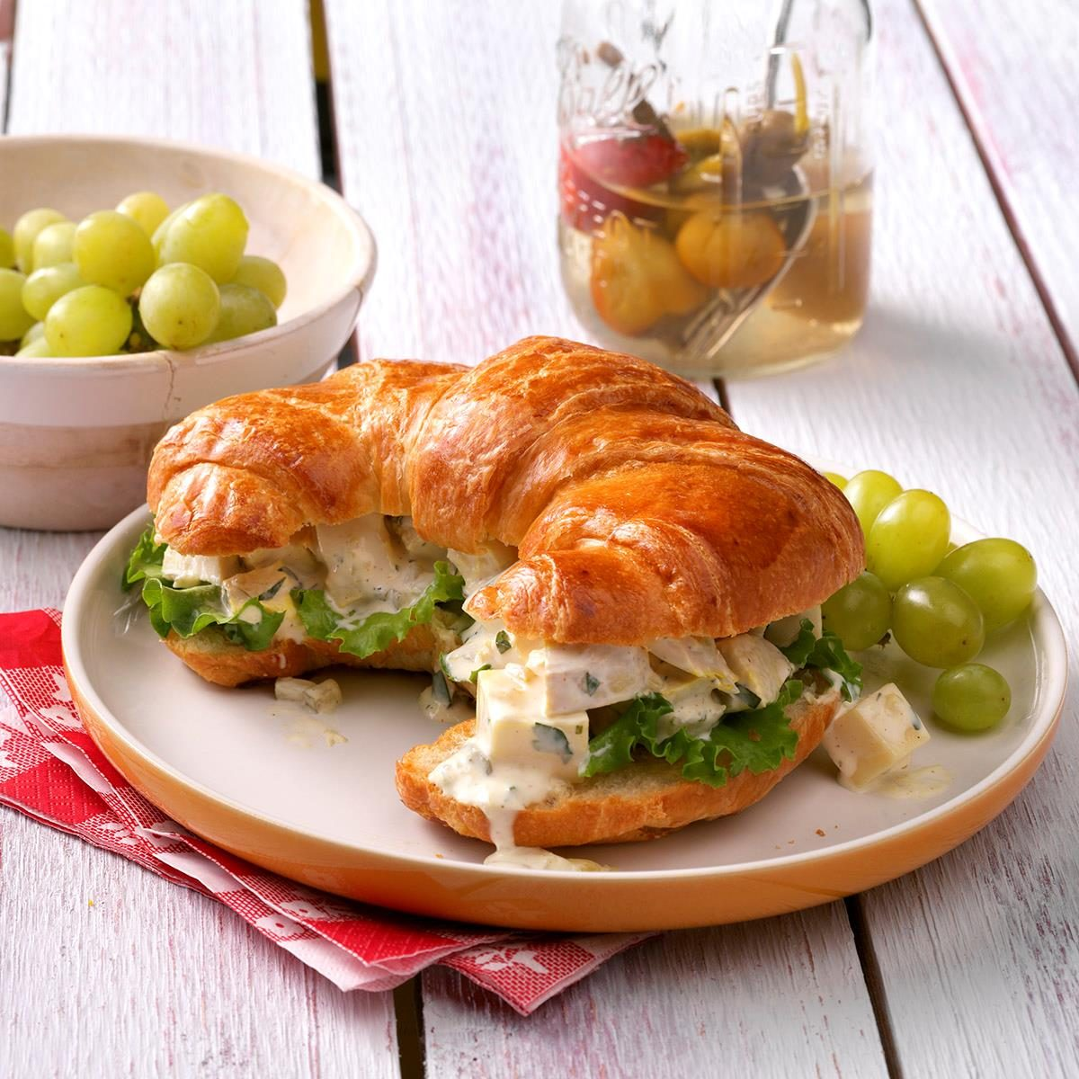 Recipes:  Sandwiches & Salads - Cover