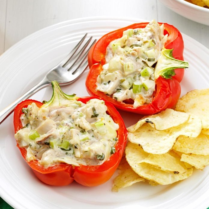 Chicken Salad Stuffed Peppers Exps167975 Th2847295b03 07 9bc Rms 2