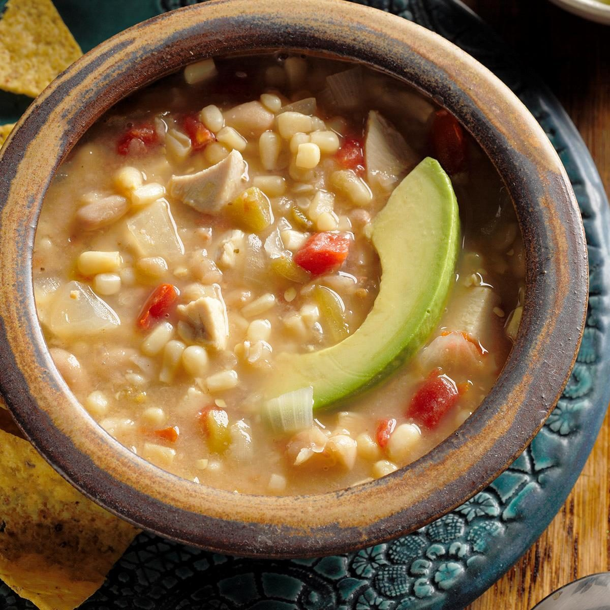 Chicken Soup with Beans