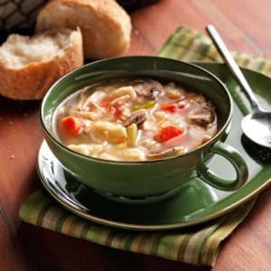 Chicken Soup with Spaetzle