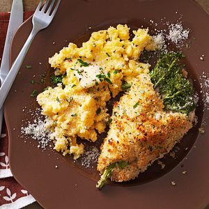 Chicken Stuffed with Broccolini & Cheese
