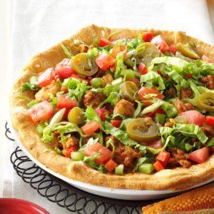 Chicken Taco Pie