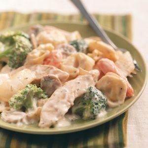 Chicken Tortellini Alfredo