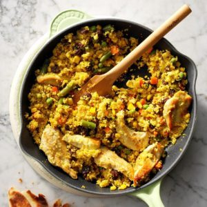 Chicken & Vegetable Curry Couscous