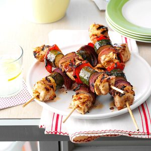 Chicken & Vegetable Kabobs