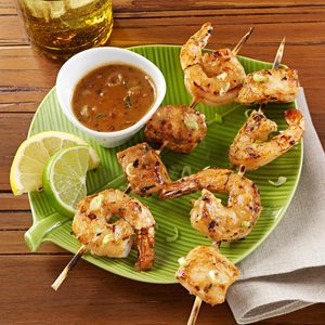 Chicken and Shrimp Satay