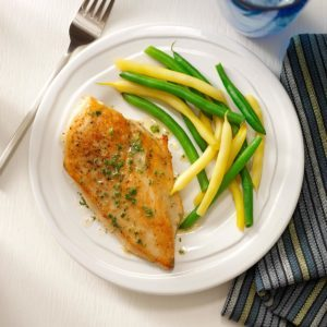 Chicken in Lime Butter